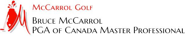 Bruce McCarrol Golf